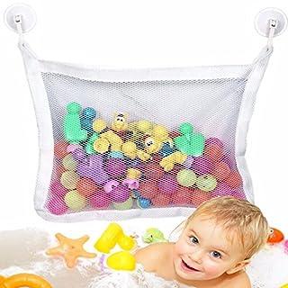 Spielzeugtasche Kids Baby Bath Time, Spielzeug Mesh Net, Badespielzeug Aufbewahrung für Babys Jungen und Mädchen