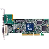 Matrox G55 - Scheda video passiva (AGP, memoria 32MB DDR2 , DVI/VGA or VGA/VGA display, 1 GPU)