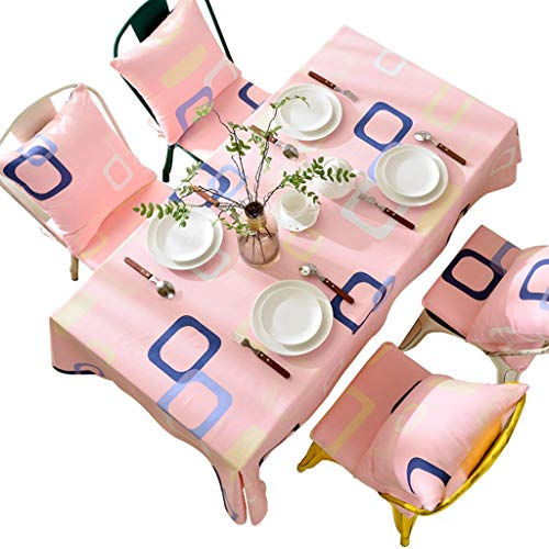 WSGZH Nappe Polyester Coton Rectangulaire 90 * 90CM - Nappe De 230 * 230CM Maison Sparkly Wedding Party (Taille : 110 * 110CM)