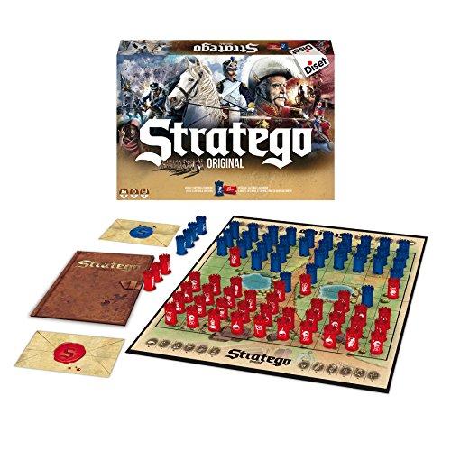 Stratego - Original, juego de mesa (Diset 80516)