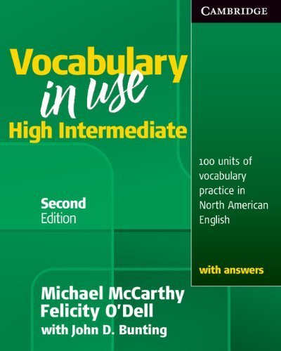 Vocabulary in Use High Intermediate Student's Book with Answers by McCarthy, Michael, O'Dell, Felicity (2010) Paperback