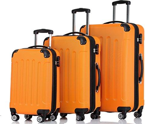 Shaik – Juego de maletas  naranja naranja
