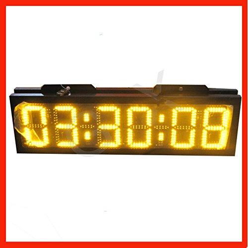 Preisvergleich Produktbild Gowe Wasserdicht 20,3cm Double Side LED Digital Uhr