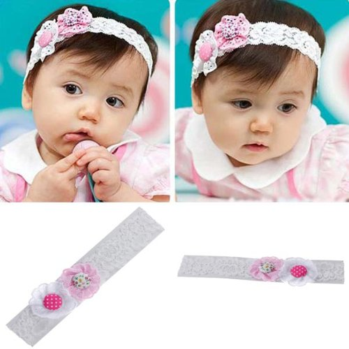 Cute Baby Lace Flower Kids Hair Accessories Ornament Headband