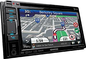 "Kenwood Electronics DNX-5230DAB Fixed 6.1"" TFT Touchscreen 2600g Black navigator - navigators (External, 26 s, 2.5 m/s, 0.1 m/s, All Europe, 2D)"