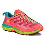 HOKA ONE ONE Women's Speedgoat Shoe (9, Neon Coral)