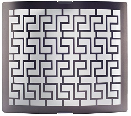 Philips Jigsaw 30954 Wall Light (White and Black and Metal and Glass)