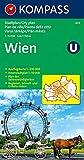 Wien: 1:15000. Innenstadt 1:10000. Ausflugskarte 1:200000 (KOMPASS-Stadtpläne, Band 433) -