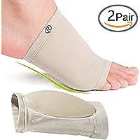 Gel Arch Support Plantarfasziitis–Soft Gel für die flach Fuß & Fersensporn Schmerzen relief- 2Paar preisvergleich bei billige-tabletten.eu