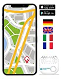 musegear® localizzatore Chiavi Bluetooth - Volume 3 Volte più Potente -Colore Bianco - Key Finder - Portafoglio Telefono