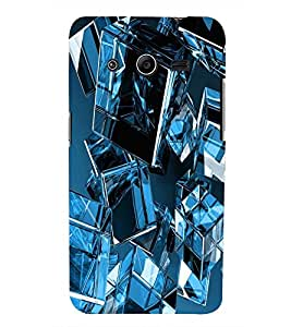 PRINTSWAG GLASS CUBE Designer Back Cover Case for SAMSUNG GALAXY CORE 2 G355H