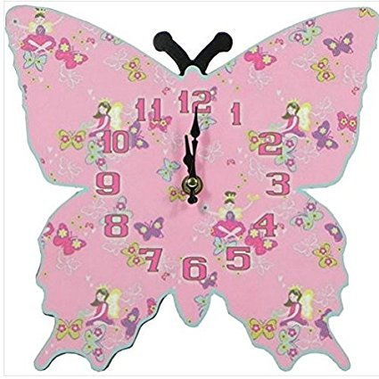 great-gift-for-girls-gorgeous-wooden-pink-butterfly-wall-clock-wildlife-pet-home-sofa-table-bookcase