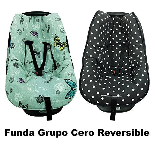 FUNDA GRUPO CERO UNIVERSAL - REVERSIBLE - MARIPOSAS COLORES