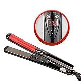 Cosprof professionale capelli agli ioni negativi–Premium Titanium Plate Flat Iron 170& # X2109; -450& # X2109; con funzione di spegnimento automatico