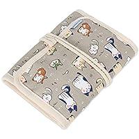 Teamoy Organizador de la caja de la lona para los ganchos de ganchillo Crocheting Needles Bag--Cartoon Cats(Sin accesorios incluidos)