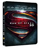 Man of Steel 3D Steelbook [German Exclusive, English Language] [3D Blu-ray] [Limited Edition][Region Free][2-Discs/