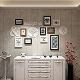 PHOTOZXM GRJH® Foto Wand, Kreativität Kombination Gemälde Einfache Moderne Bilderrahmen Malerei Kreativer Europäer (Farbe : #1)