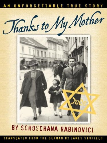 Thanks to My Mother (English Edition)