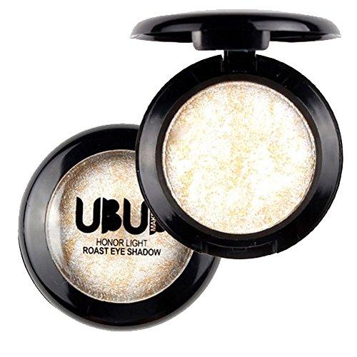 Yogogo Einzelner Gebackener Augen Schatten Puder Make-Up Paletten Schimmer Metallische Augenschminke Palette (07#) -