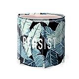 LVLUOYE Bath Barrel Erwachsene Kunststoff-Badebottich Eindickung Haushalt Bad Barrel Female Haushalt Körper Folding (Farbe: C) -B