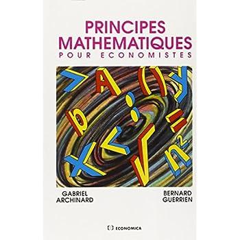 Principes mathématiques pour économistes