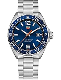 TAG HEUER MEN'S FORMULA 1 43MM STEEL BRACELET QUARTZ WATCH WAZ1010.BA0842
