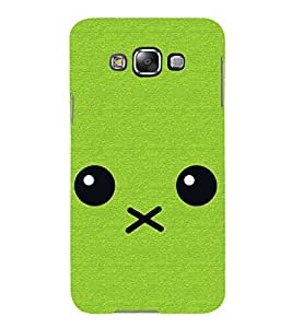 Cartoon 3D Hard Polycarbonate Designer Back Case Cover for Samsung Galaxy E5 (2015) :: Samsung Galaxy E5 Duos :: Samsung Galaxy E5 E500F E500H E500HQ E500M E500F/DS E500H/DS E500M/DS