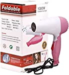 TECHICON Professional Folding Hair Dryer with 2 Speed Control 1000W - Assorted Color