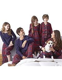 d0c2b96c5e SESY Familie Zusammenpassen Weihnachten Schlafanzug Pyjama Set Mama Papa…