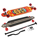 MARONAD Longboard Drop Through Race Cruiser ABEC-11 HAWAII und der MARONAD STICK