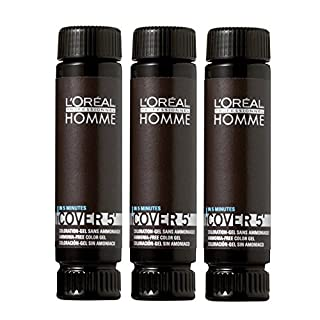 L'Oréal Professionnel Homme Cover 5 06 dunkelblond 3x50ml