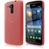Housse de protection pour Acer Liquid E700Trio (E39)–slim case en mat de PrimaCase 06.Rosa
