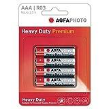 4 Stück agfaphoto aaa-Batterien, Zink