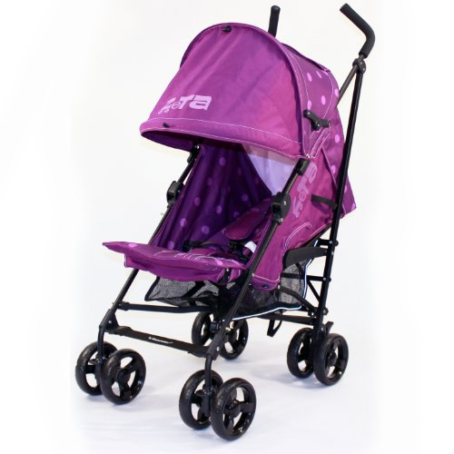 Baby Stroller Zeta Vooom – Plum Dots Stroller Buggy Pushchair From Birth 51GRpX 2BNyNL