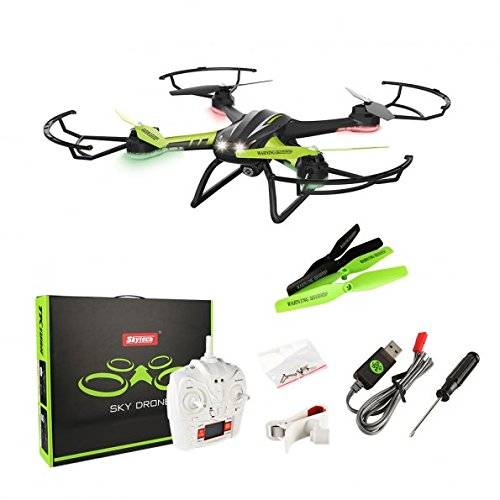 Sainsmart Jr. RC Drone with WIFI Stay Video Digital camera, Clever One Key Returning, Top-Maintain Huge Dimension Sensible Copter, with LED Evening Sight