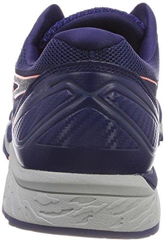 Asics Gel-Fujitrabuco 6, Scarpe da Running Donna Blu (Indigo Blue Begonia Pinksmoke Blue 4906)