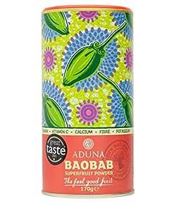 Aduna Baobab Superfrucht Pulver, 1er Pack (1 x 170 g)
