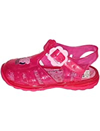 Peppa Pig Fuchsia Pink Jelly Beach Sandals Kids Sizes 3 to 9