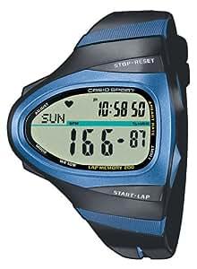 Casio Sport Unisex-Armbanduhr Laufuhr Digital Quarz CHR-100-1VER