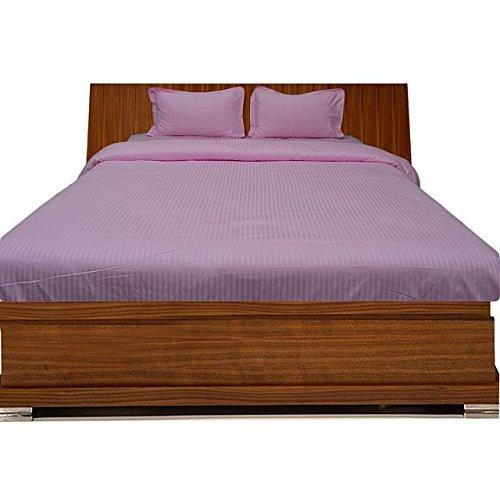 Fadenzahl: 300 Blatt, mit Extra Kissen-Set, Super-King-Betten aus UK, gestreift, 300TC, 100% Baumwolle von Ägyptischer Baumwolle Bettwäsche -