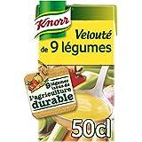 Knorr Soupe Velouté de 9 Légumes 50 cl - Lot de 6