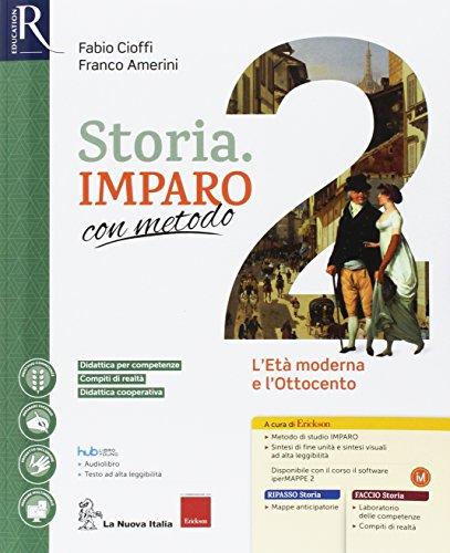 Storia imparo con metodo. Per la Scuola media. Con e-book. Con 2 espansioni online. Con 2 libri: Ripasso-Quaderno