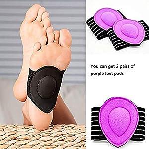 Case Wonder Umfassende Plantar Fasciitis – Elastische Bandage Bogen Plattfuß Orthotics Massage-Auflage-Einlegesohlen Fuss Sleeves für Schwache Gefal