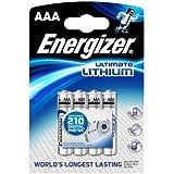 94,6L.- Express Ec123Piles au lithium, AAA (lot de 4)