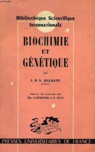 BIOCHIMIE ET GENETIQUE