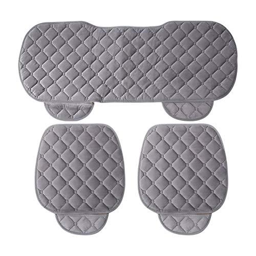 3 pezzi/set cuscino del sedile auto anteriore posteriore coprisedili auto veicoli sedia pad mat