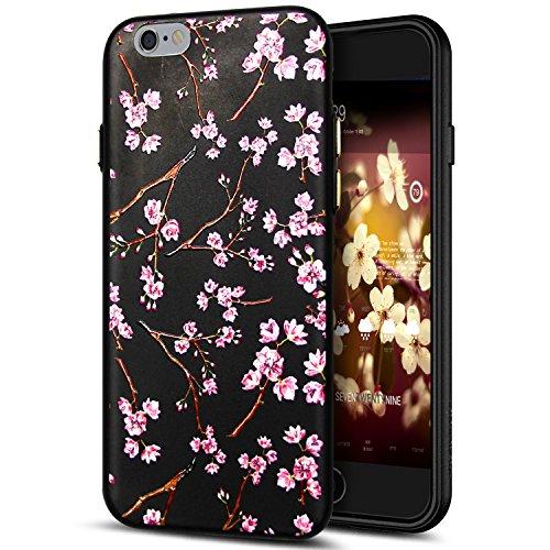 Cover iPhone 6S Plus,Cover iPhone 6 Plus,Custodia iPhone 6S Plus / iPhone 6 Plus Cover,ikasus® Cover custodia per iPhone 6S Plus / 6 Plus disegno colorato TPU con 3d arte pittura floreale fiore fiori  Fiore #10