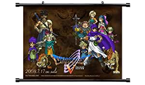Dragon Quest V 5 Game Fabric Wall Scroll Poster (32x24) Inches