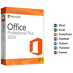Microsoft Office Professional Plus 2016 - Vollversion - Esd - 3264 Bit