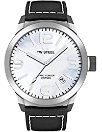 TW Steel Marc Coblen Edition mit Lederband 42 MM Blue MOP/Black TWMC2